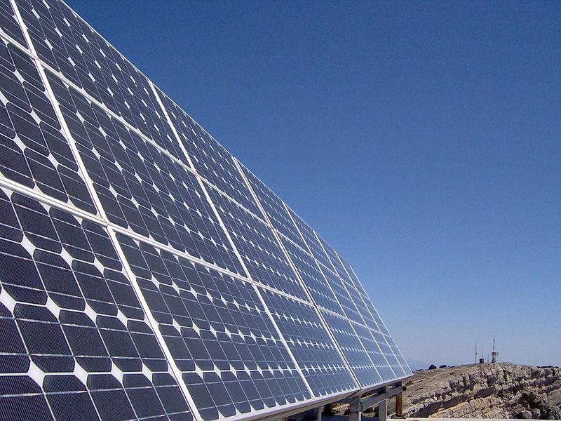 Photovoltaikmodule zur Stromerzeugung